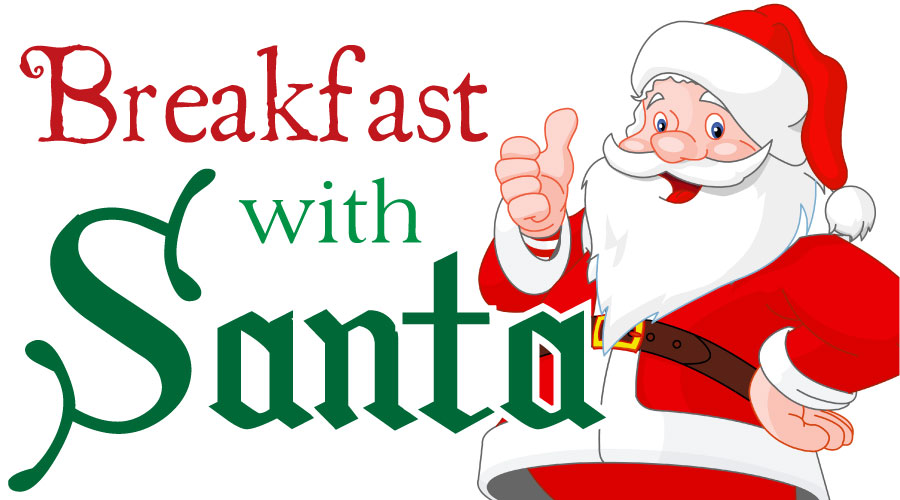 2016 clipart santa claus. Breakfast with the johns