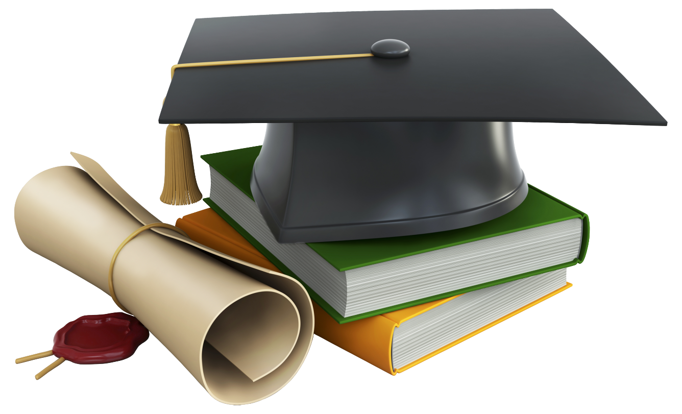 2017 cap and diploma png. Graduation books clipart