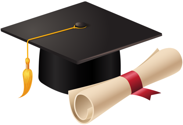 2017 cap and diploma png. Graduation clipart free icons