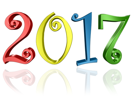 2017 clipart 2017 number