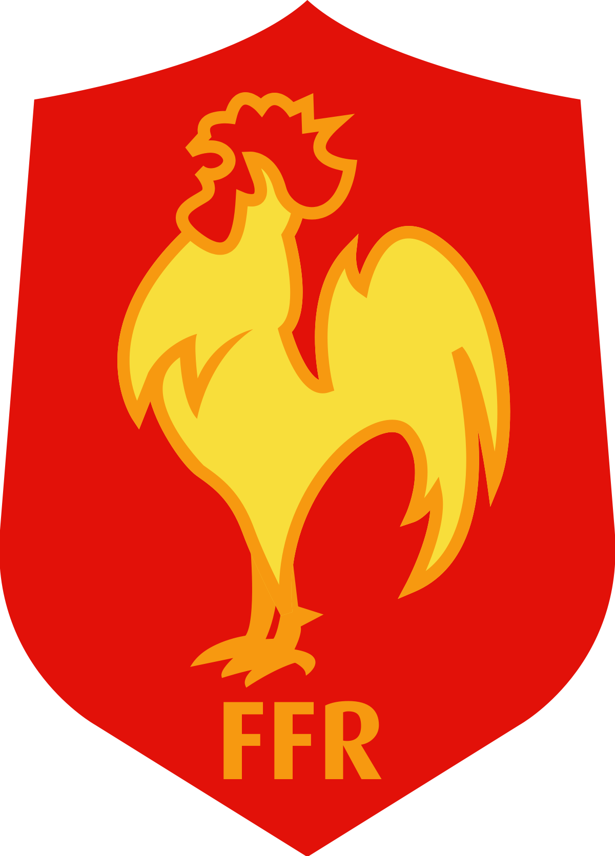 2017 clipart golden rooster. France national rugby union