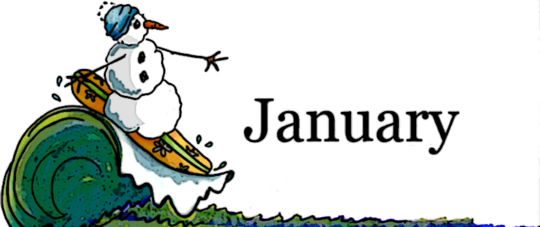 2017 clipart january. Free
