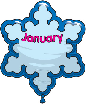 2017 clipart january. Free clip art pictures
