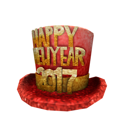happy new year hat png