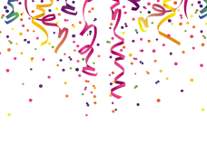 2018 clipart confetti. Png vector psd peoplepng
