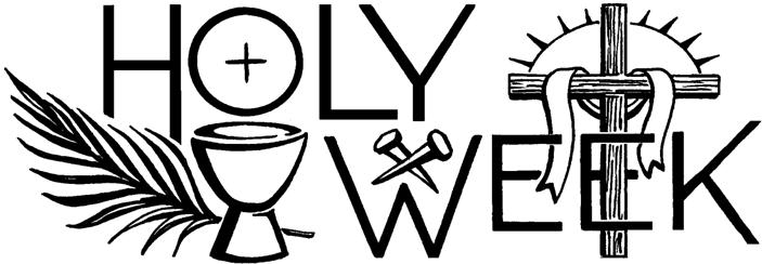 2018 clipart holy week. Beautiful wish pictures