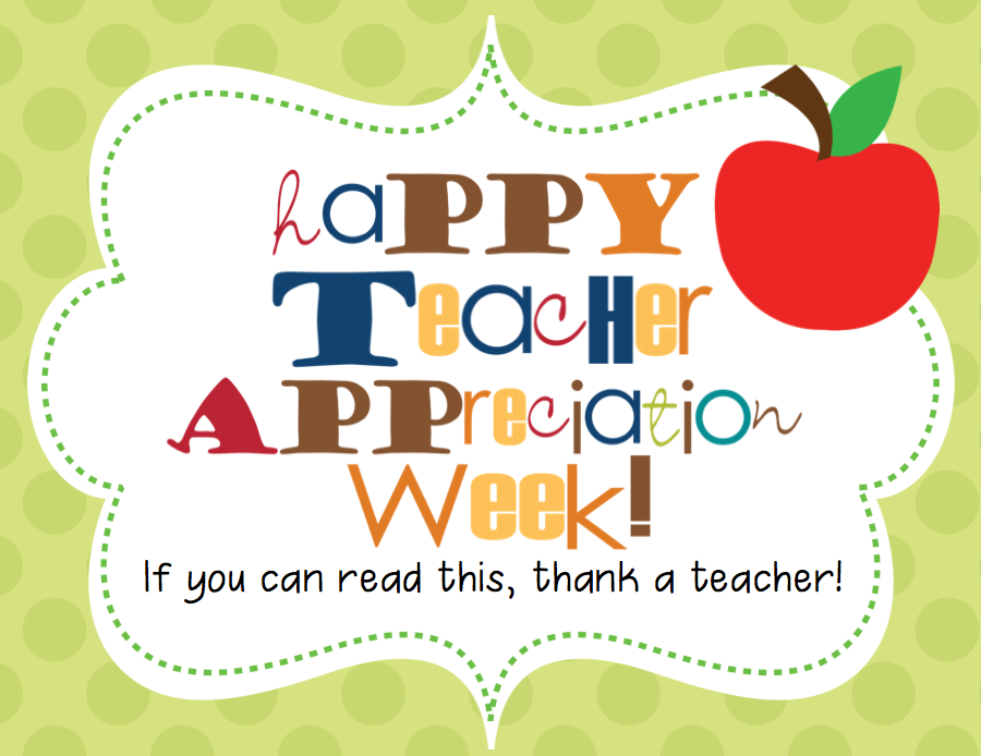 2018 clipart teacher appreciation week. Images news you can