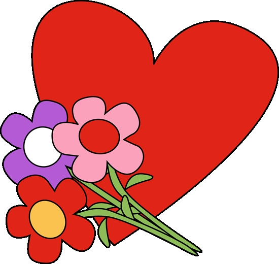 2018 clipart valentines day. Hearts flowers heart and