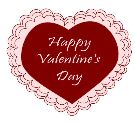 2018 clipart valentines day. Heart free download happy