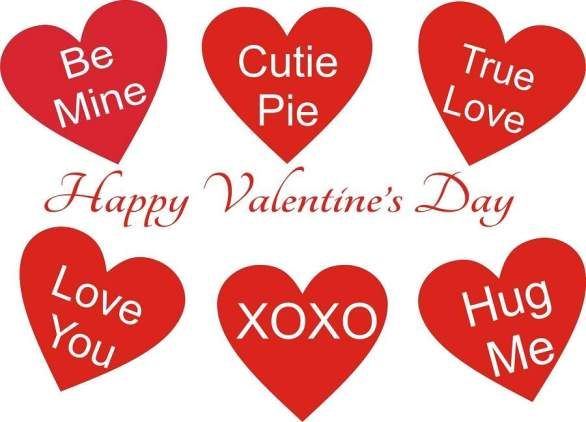 2018 clipart valentines day. Happy hearts images download
