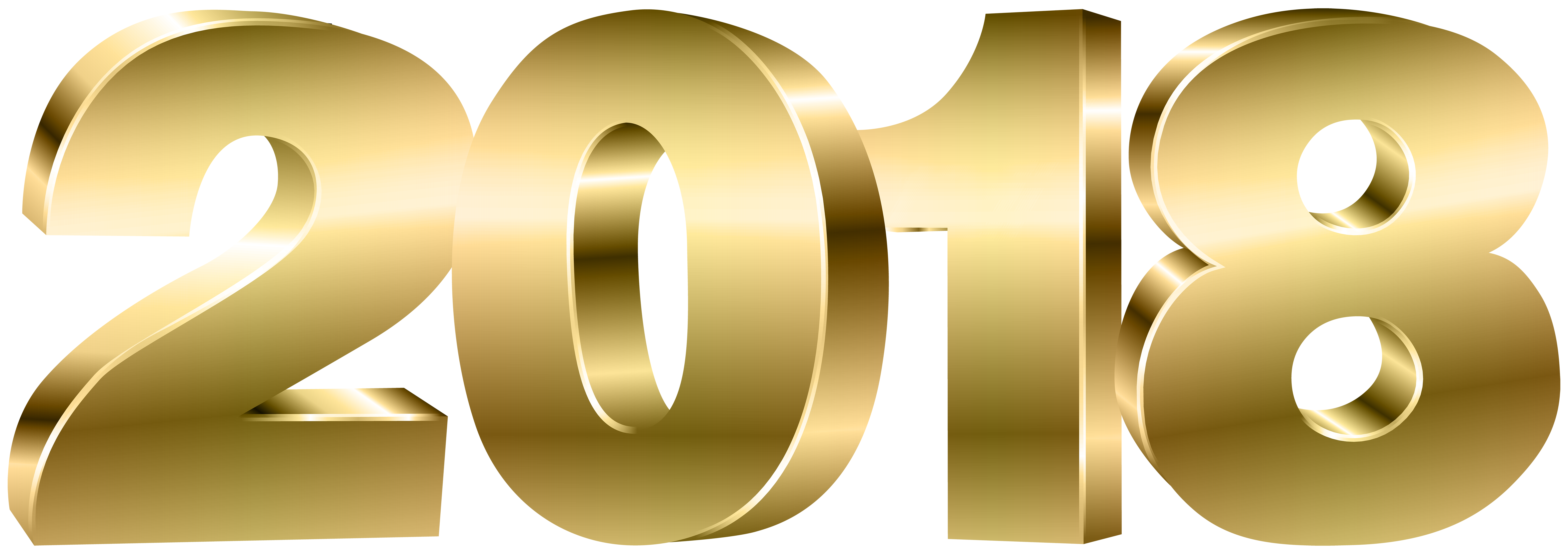 2018 gold png. Clipart image gallery