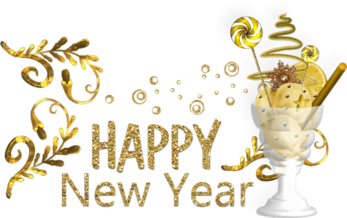 2018 new year png. Happy image text download