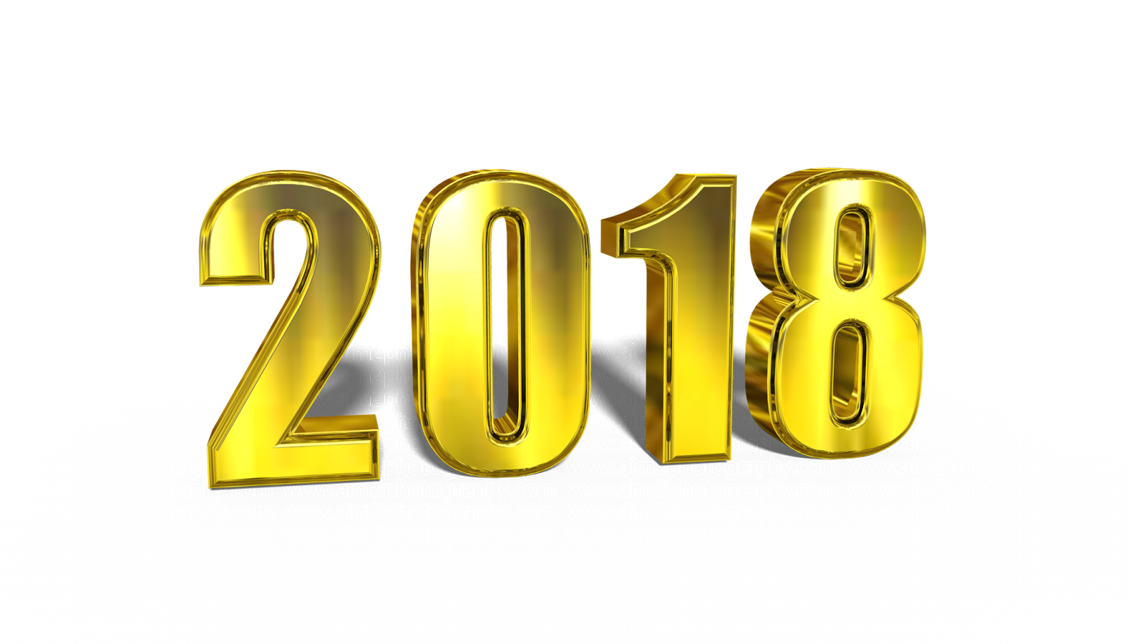 2018 png. Happy new year transparent