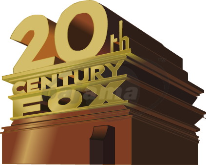 20th century fox logo png. Th remake text