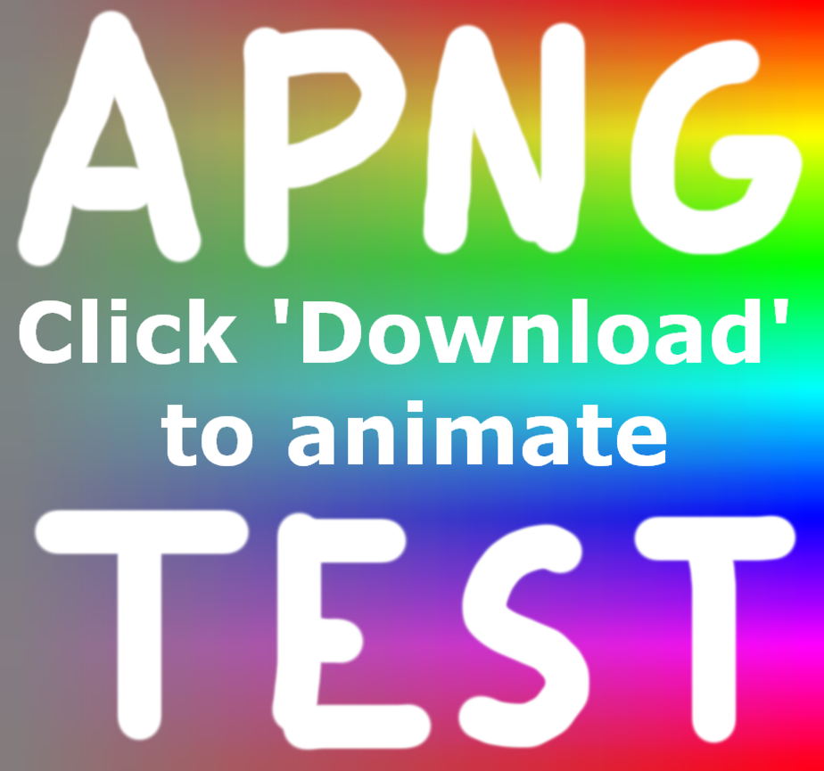 Animated no auto animate. 24 bit png image banner freeuse download