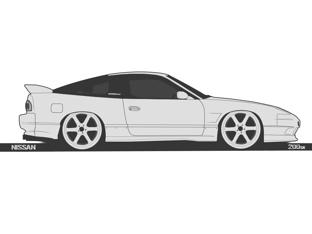 240sx drawing 200sx nissan. Sx kouki by erithdorpl