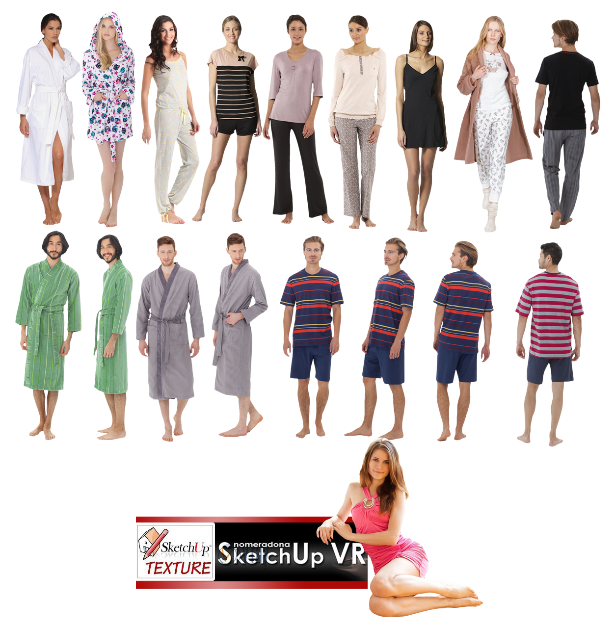2d people png. Sketchup texture cut out