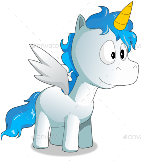 2d sprite png. Flappy unicorn game asset