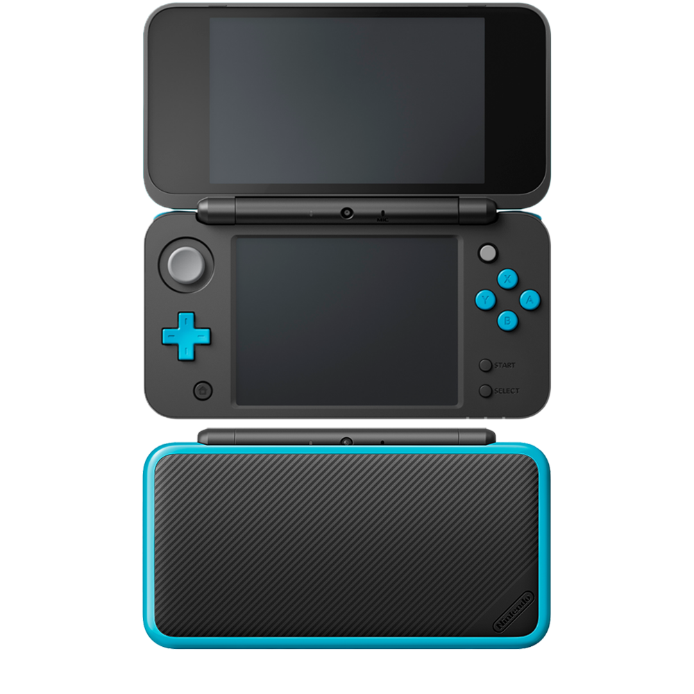 2ds transparent electric blue. Nintendo ds xl mightyskins