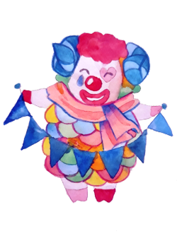 2ds transparent clown. Leaf tumblr some cool