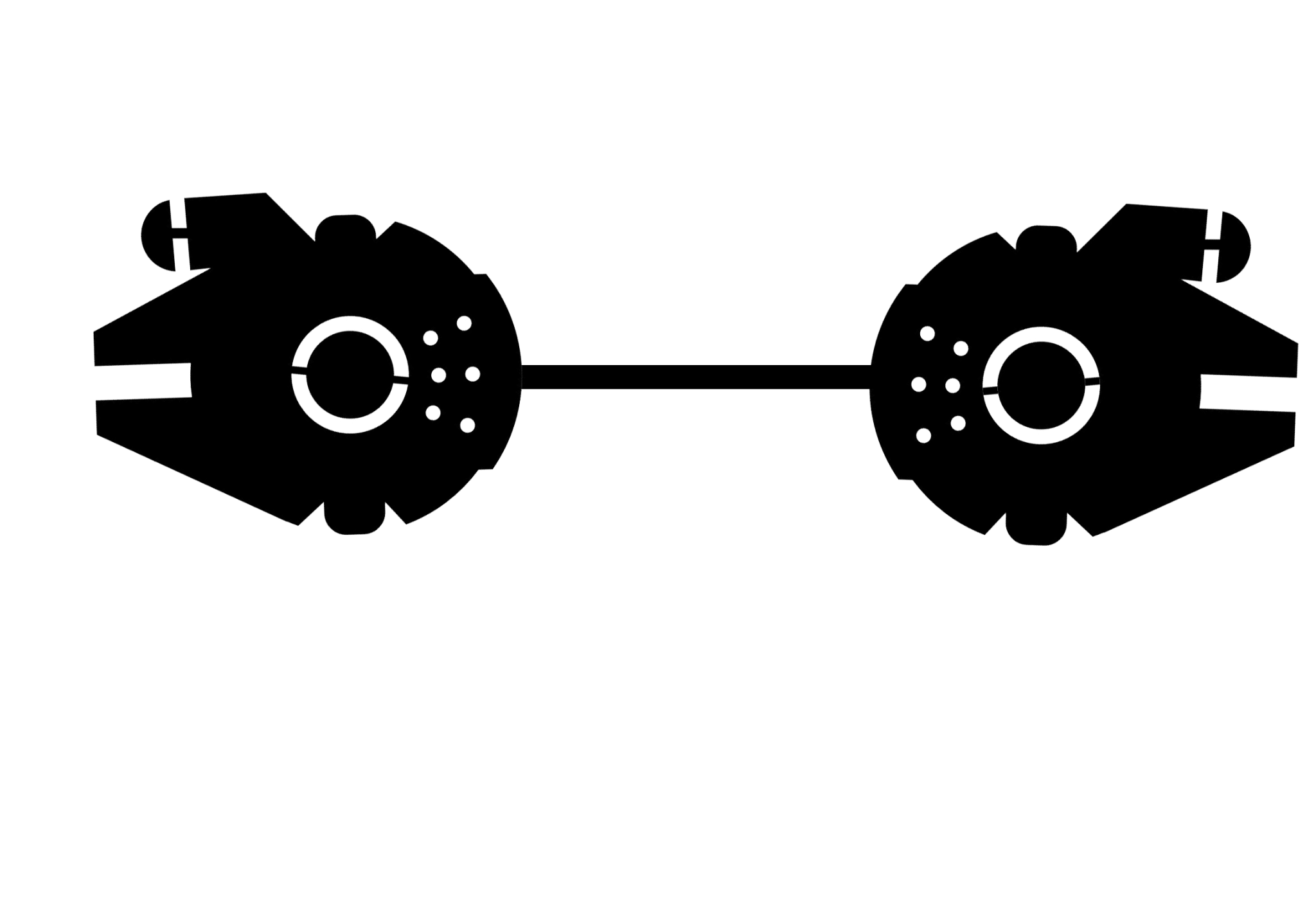 2ds transparent flower crown. Black and white png