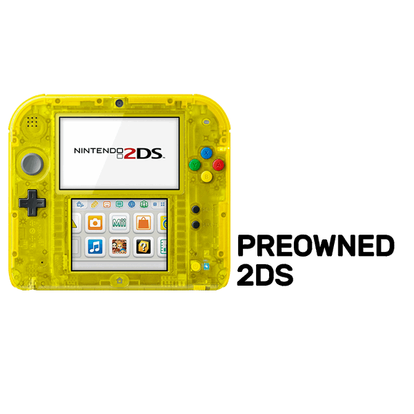 2ds transparent official. Nintendo ds yellow limited