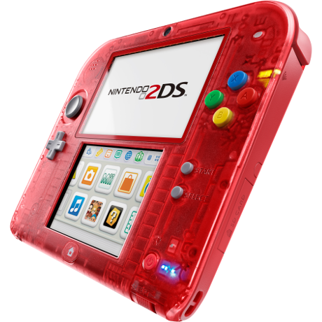 2ds transparent leather. Nintendo ds special edition