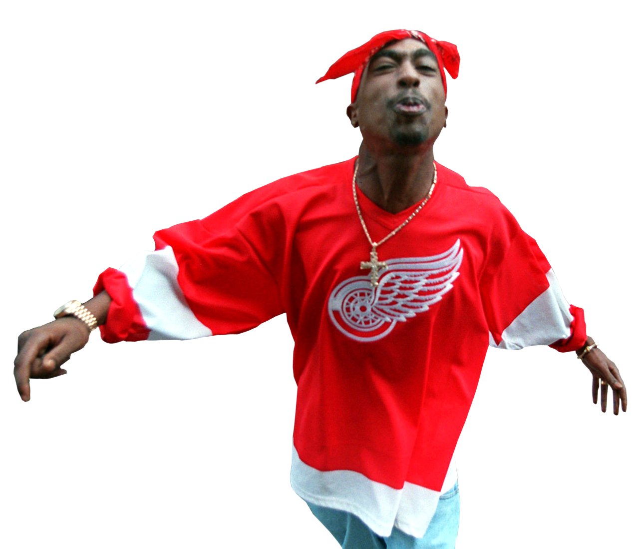 2pac transparent full body. Tupac shakur png background