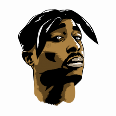 2pac transparent silhouette. Pac png dlpng