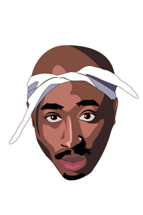 2pac transparent cartoon. Pac celebr load