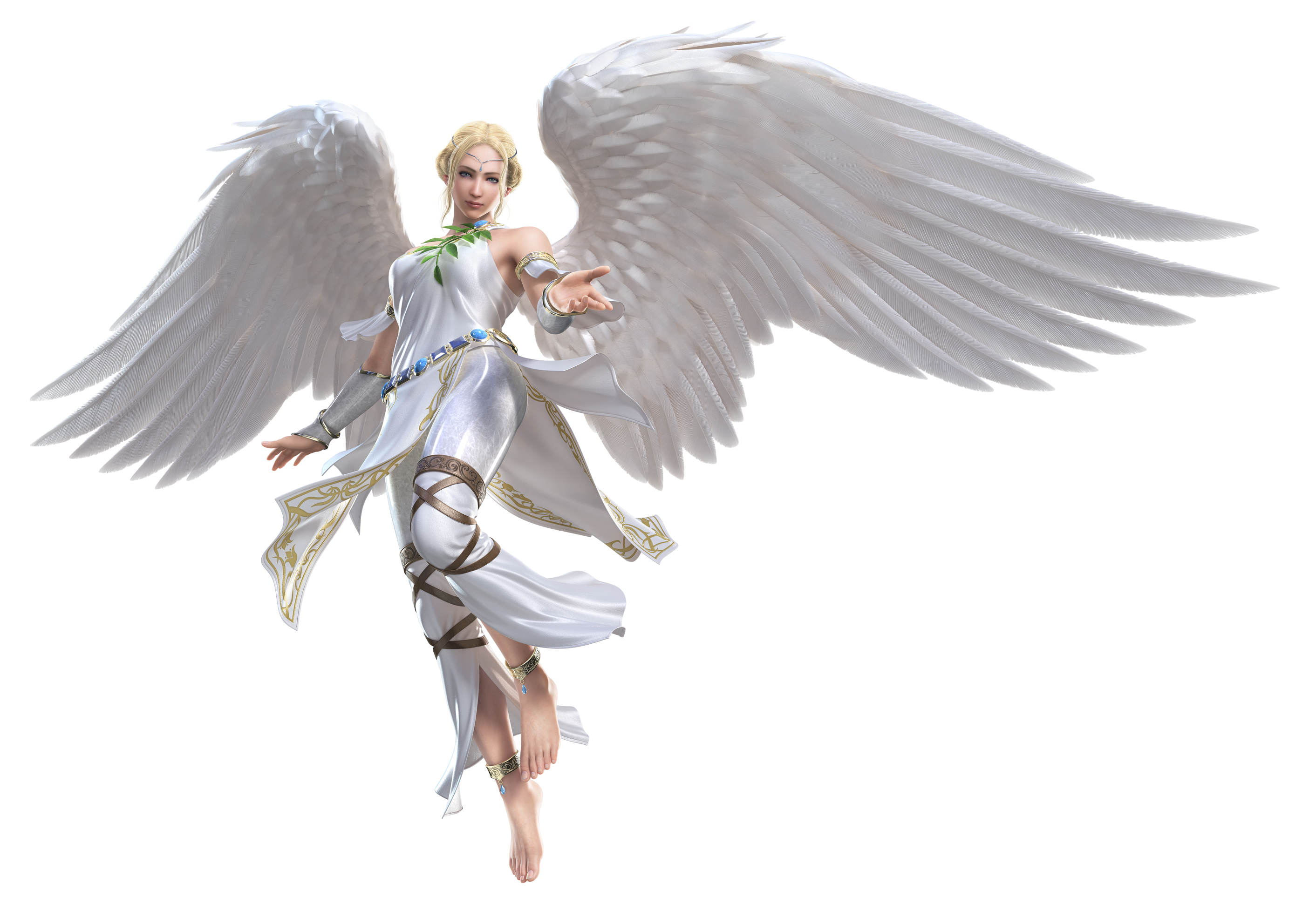 3 angels png. Warrior angel image mart