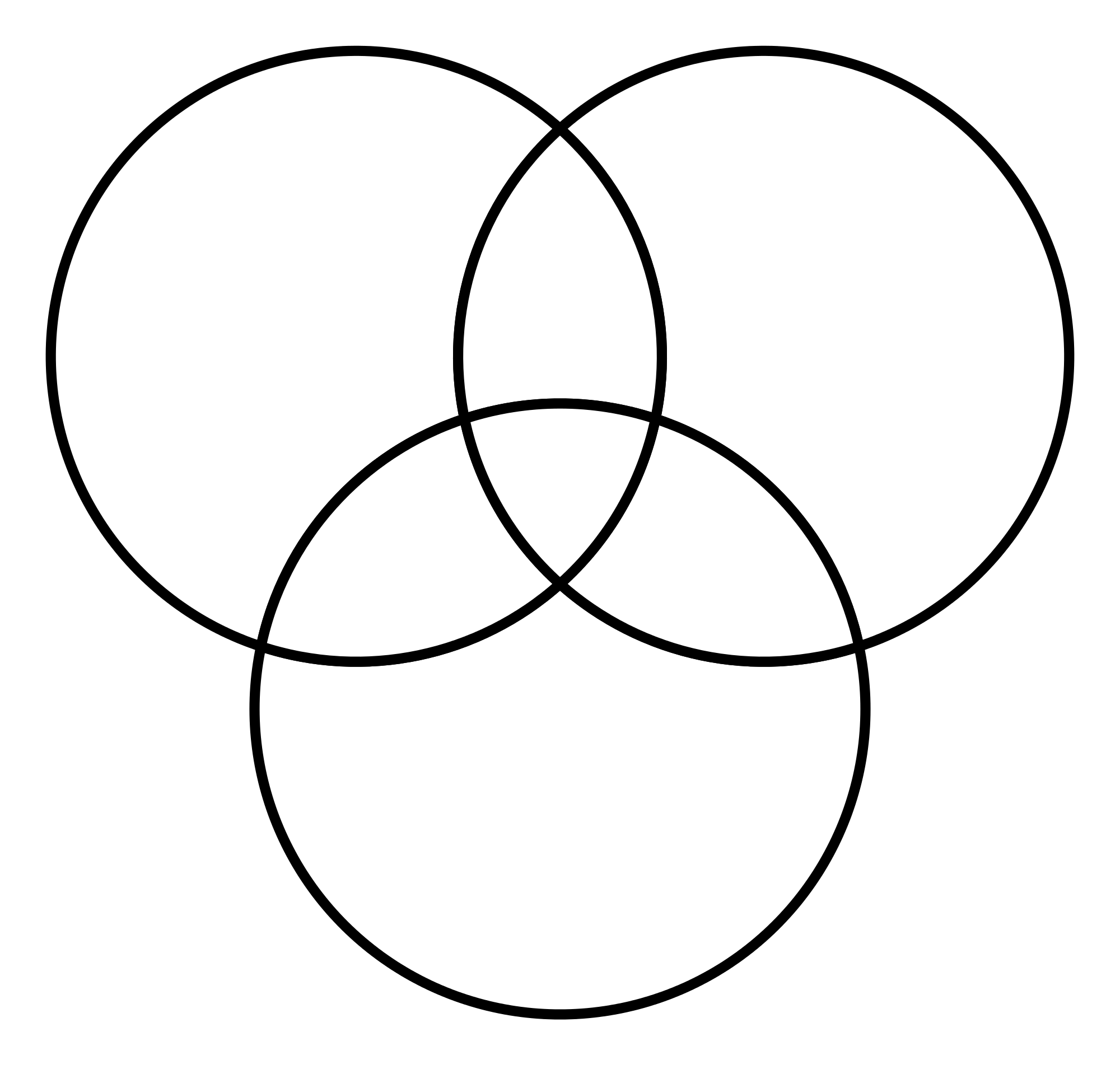 File intersection of svg. 3 circles png picture library stock