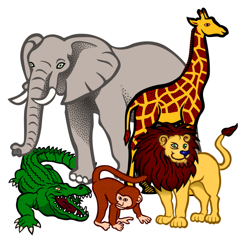 Png image . 3 clipart animal clip royalty free download