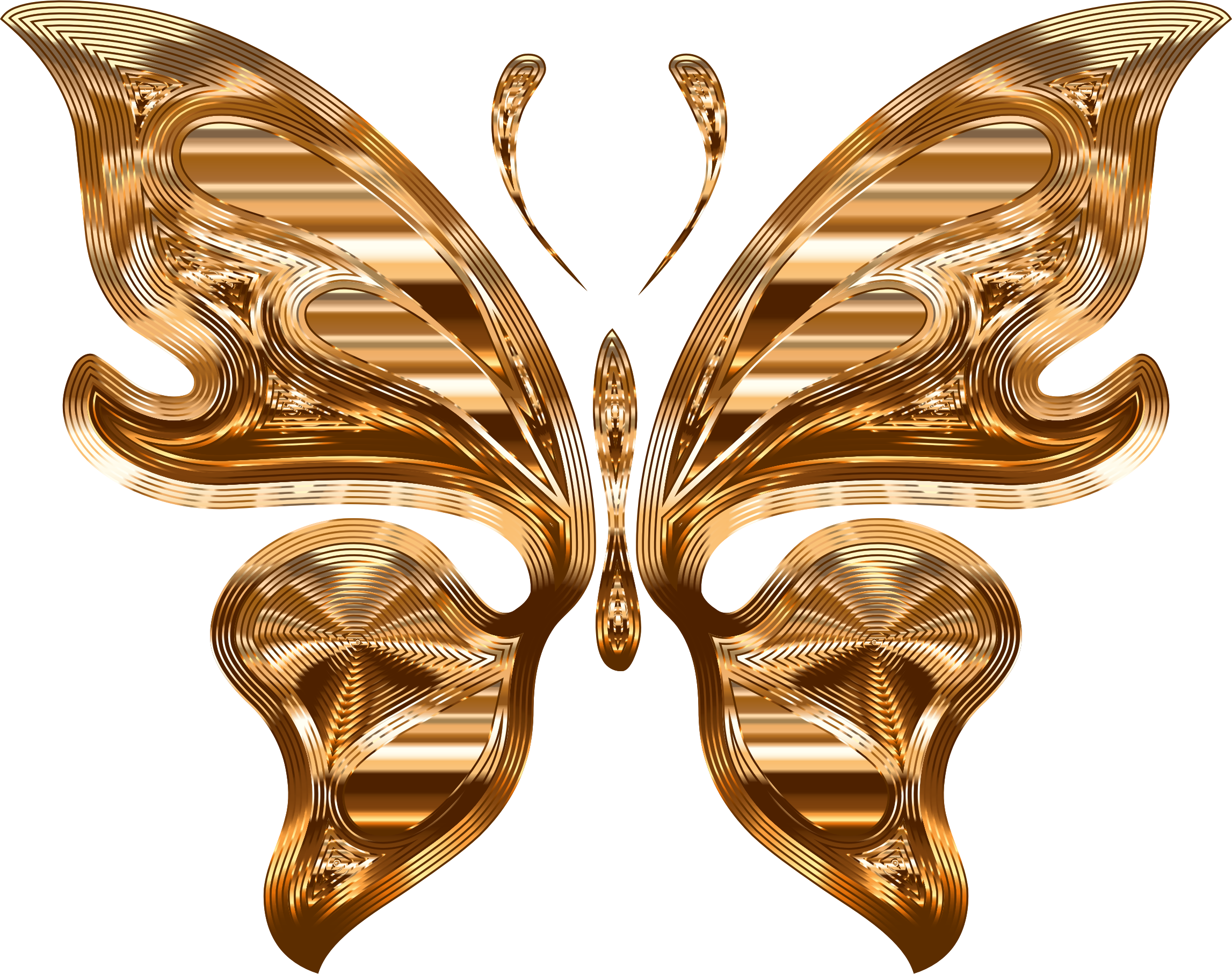 3 clipart butterfly. Prismatic variation no background