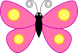 3 clipart butterfly. Butterflies pink free images