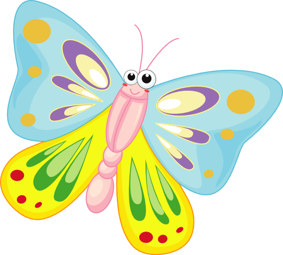 3 clipart butterfly. Free images cliparting com