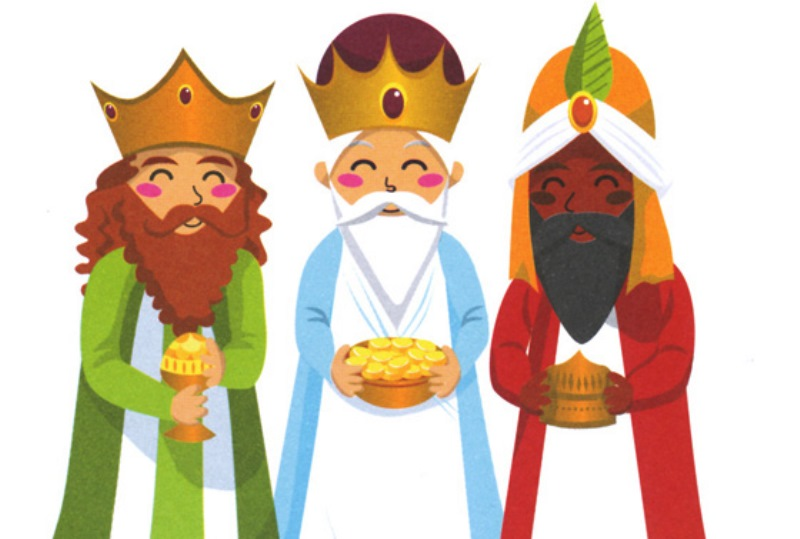 3 clipart kings. The three at getdrawings