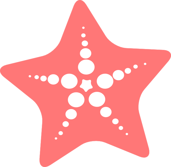 3 clipart starfish. Clip art at clker image free stock