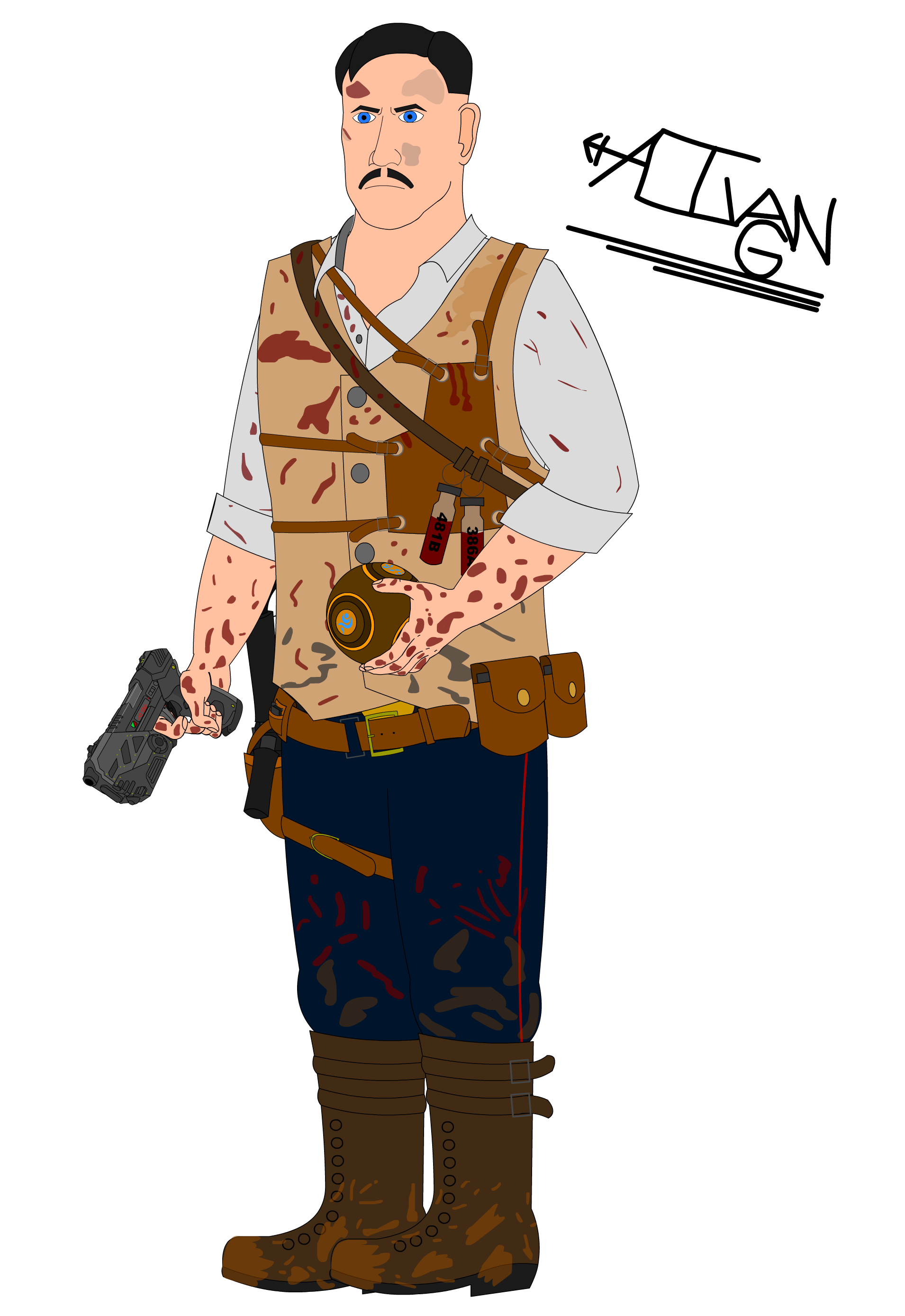 3 drawing black ops. Edward richtofen iii zombies