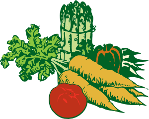 Drawing vegetable pencil. Vegetables clip art at