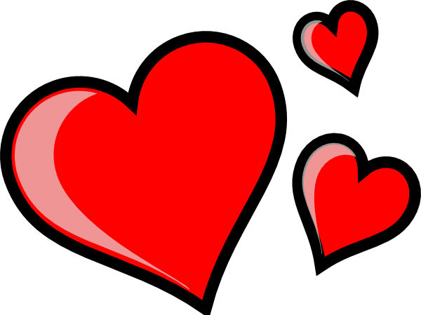 3 hearts png. Three clip art at