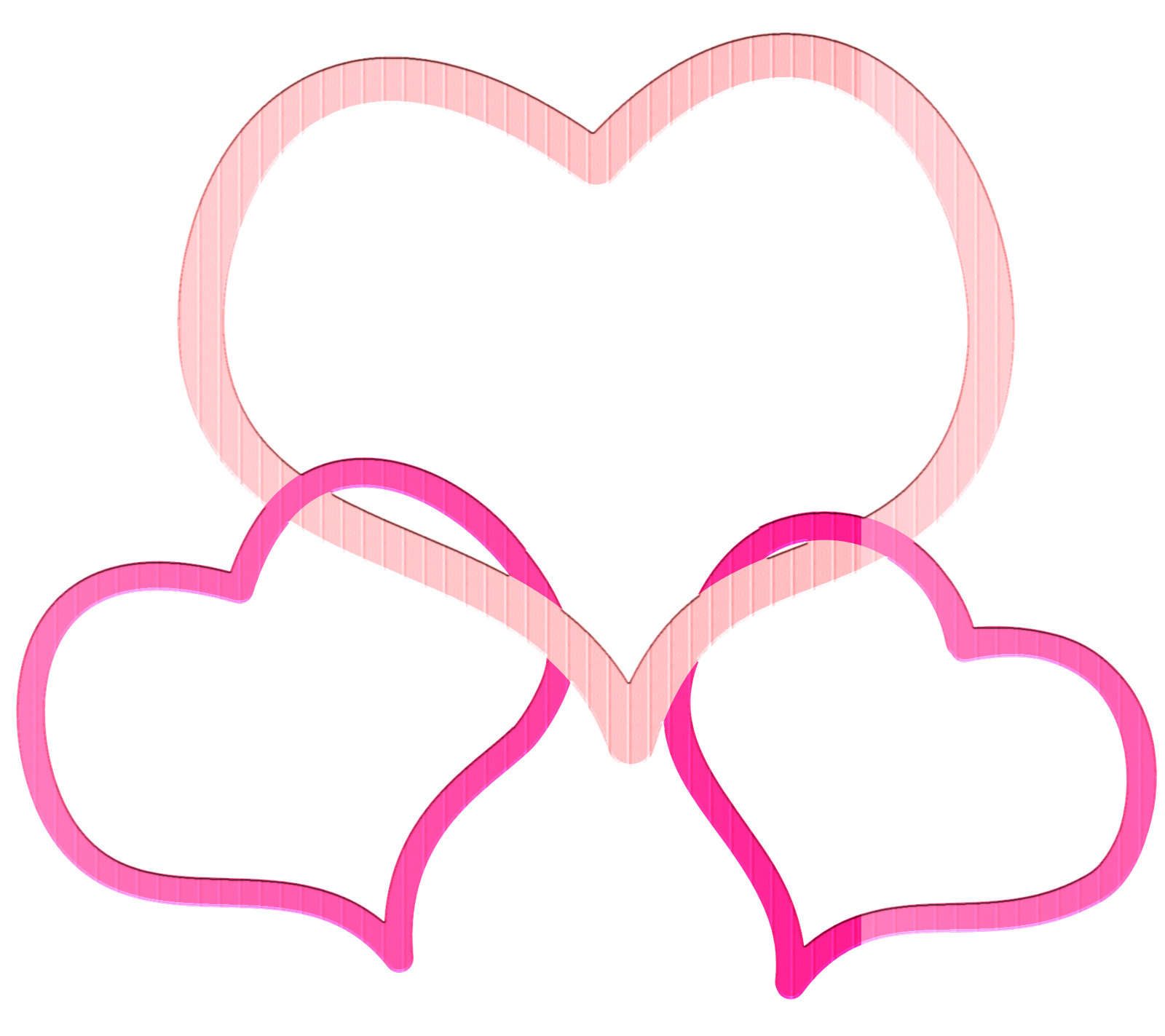 3 hearts png. Frame heart designs free