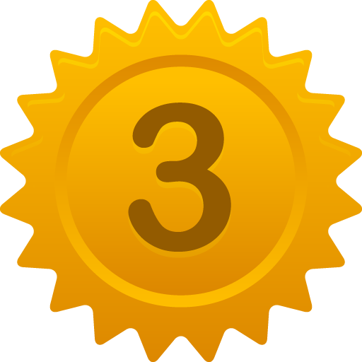 3 icon png. Number pretty office iconset
