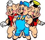 3 little pigs png. Three disney microheroes wiki