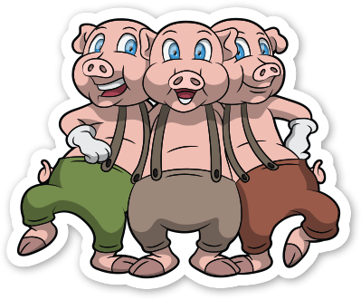 3 little pigs png. Download free three hd