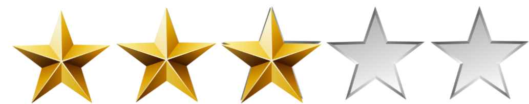 3 out of 5 stars png. Image star mirror s vector transparent stock