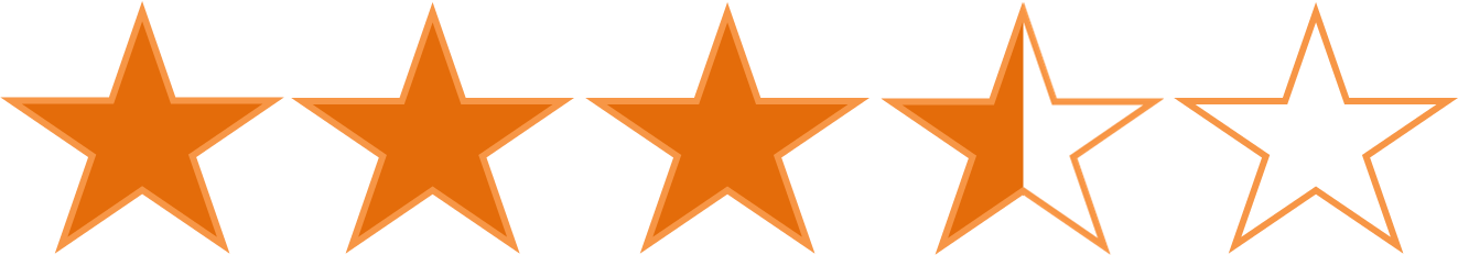 Index images star ratingpng. 3 out of 5 stars png free download