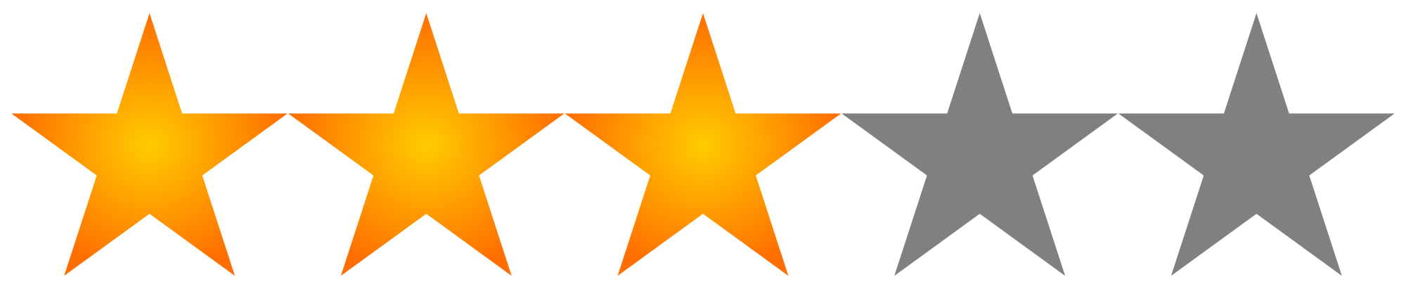 3 star png
