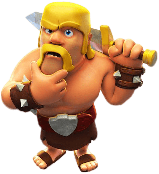 3 star clash of clans png. Transparent images stickpng barbarian