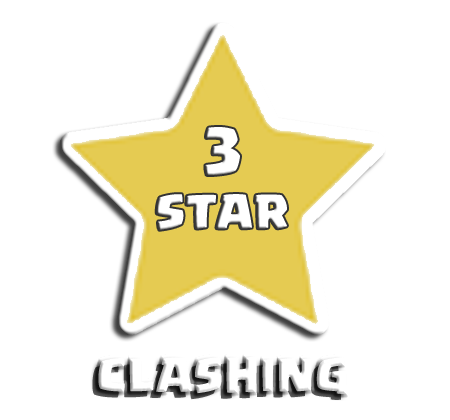 3 star clash of clans png. Clashing home demo